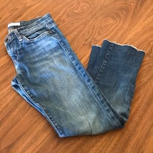 Joes Jeans With Fray Edge